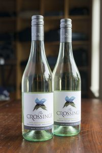 The Crossings 2014 Sauvignon Blanc I'm actually a New Zealand citizen. My dad's a Kiwi. We spent three weeks touring the country by RV a few years ago, and The Crossings was one of my favorite vineyards we hit along the way.