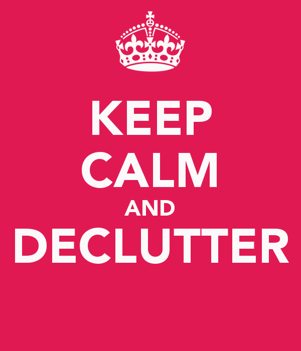 How To Decluttering Your Life, One Square Foot at a Time